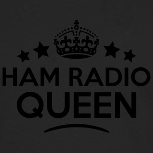 ham radio queen keep calm style WOMENS T-SHIRT - Men's Premium Longsleeve Shirt