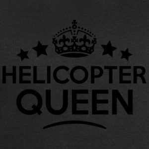 helicopter queen keep calm style WOMENS T-SHIRT - Men's Sweatshirt by Stanley & Stella
