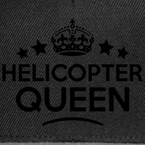helicopter queen keep calm style WOMENS T-SHIRT - Snapback Cap