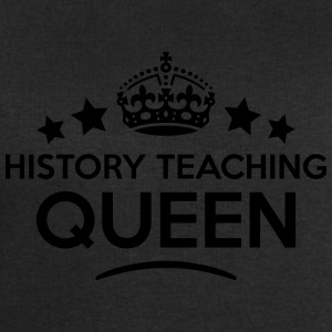 history teaching queen keep calm style c WOMENS T- - Men's Sweatshirt by Stanley & Stella
