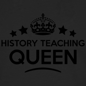 history teaching queen keep calm style c WOMENS T- - Men's Premium Longsleeve Shirt