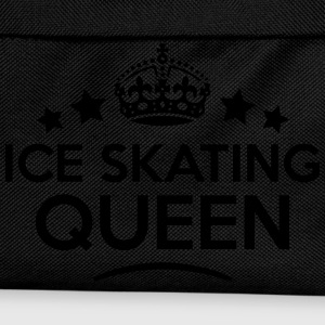 ice skating queen keep calm style WOMENS T-SHIRT - Kids' Backpack