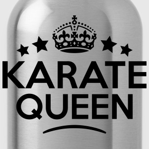 karate queen keep calm style WOMENS T-SHIRT - Water Bottle