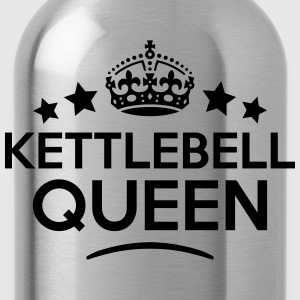 kettlebell queen keep calm style WOMENS T-SHIRT - Water Bottle