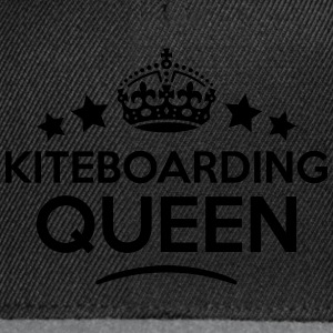 kiteboarding queen keep calm style WOMENS T-SHIRT - Snapback Cap