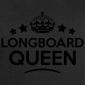longboard queen keep calm style WOMENS T-SHIRT - Men's Sweatshirt by Stanley & Stella
