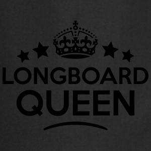 longboard queen keep calm style WOMENS T-SHIRT - Cooking Apron