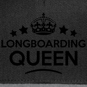 longboarding queen keep calm style WOMENS T-SHIRT - Snapback Cap