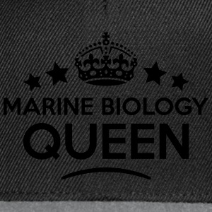 marine biology queen keep calm style cop WOMENS T- - Snapback Cap