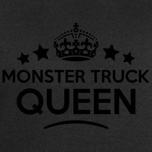 monster truck queen keep calm style WOMENS T-SHIRT - Men's Sweatshirt by Stanley & Stella