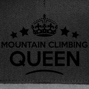 mountain climbing queen keep calm style  WOMENS T- - Snapback Cap