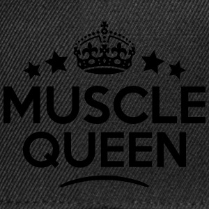 muscle queen keep calm style WOMENS T-SHIRT - Snapback Cap