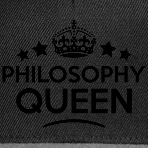 philosophy queen keep calm style WOMENS T-SHIRT - Snapback Cap
