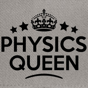 physics queen keep calm style WOMENS T-SHIRT - Snapback Cap