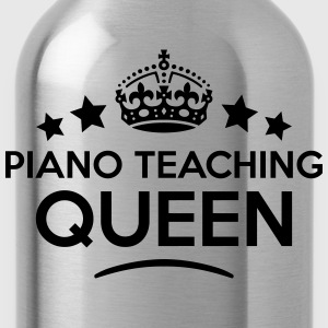 piano teaching queen keep calm style cop WOMENS T- - Water Bottle