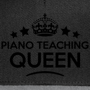 piano teaching queen keep calm style cop WOMENS T- - Snapback Cap