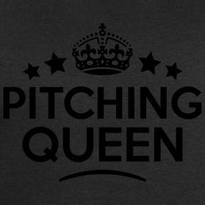 pitching queen keep calm style WOMENS T-SHIRT - Men's Sweatshirt by Stanley & Stella