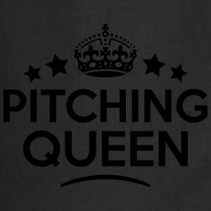 pitching queen keep calm style WOMENS T-SHIRT - Cooking Apron