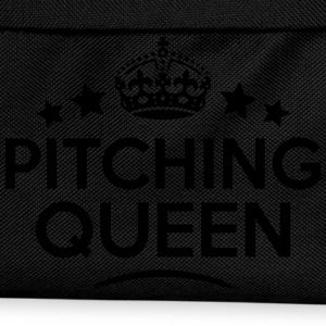 pitching queen keep calm style WOMENS T-SHIRT - Kids' Backpack