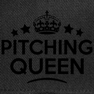 pitching queen keep calm style WOMENS T-SHIRT - Snapback Cap