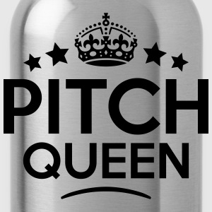 pitch queen keep calm style WOMENS T-SHIRT - Water Bottle