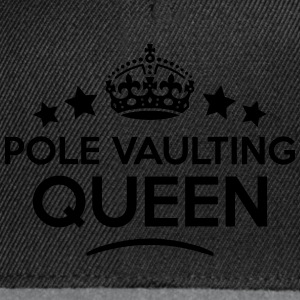 pole vaulting queen keep calm style WOMENS T-SHIRT - Snapback Cap