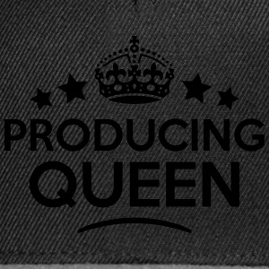 producing queen keep calm style WOMENS T-SHIRT - Snapback Cap
