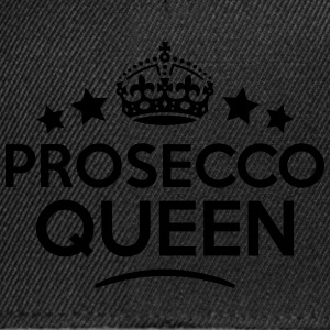 prosecco queen keep calm style WOMENS T-SHIRT - Snapback Cap
