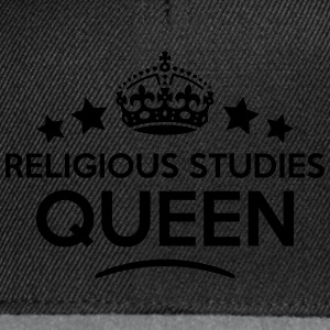 religious studies queen keep calm style  WOMENS T- - Snapback Cap