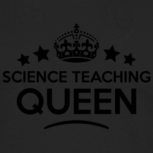 science teaching queen keep calm style c WOMENS T- - Men's Premium Longsleeve Shirt
