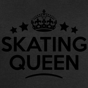 skating queen keep calm style WOMENS T-SHIRT - Men's Sweatshirt by Stanley & Stella