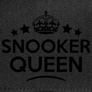 snooker queen keep calm style WOMENS T-SHIRT - Snapback Cap