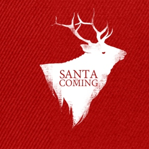 Santa is coming - Snapback Cap