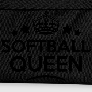 softball queen keep calm style WOMENS T-SHIRT - Kids' Backpack
