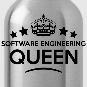 software engineering queen keep calm sty WOMENS T- - Water Bottle