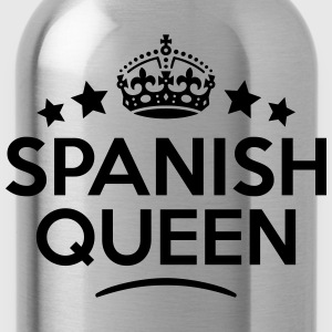 spanish queen keep calm style WOMENS T-SHIRT - Water Bottle
