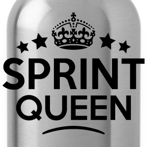 sprint queen keep calm style WOMENS T-SHIRT - Water Bottle