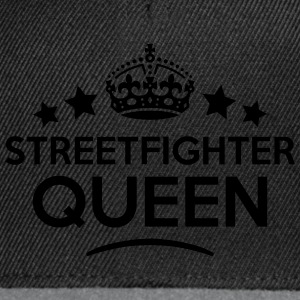 streetfighter queen keep calm style WOMENS T-SHIRT - Snapback Cap