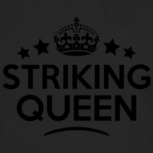 striking queen keep calm style WOMENS T-SHIRT - Men's Premium Longsleeve Shirt