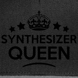 synthesizer queen keep calm style WOMENS T-SHIRT - Snapback Cap