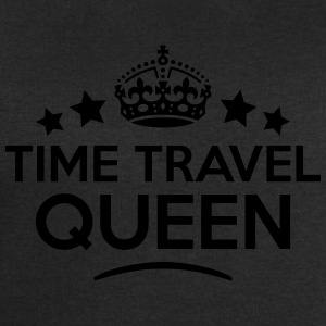 time travel queen keep calm style WOMENS T-SHIRT - Men's Sweatshirt by Stanley & Stella