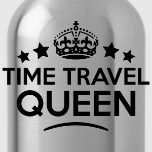 time travel queen keep calm style WOMENS T-SHIRT - Water Bottle