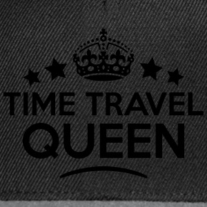 time travel queen keep calm style WOMENS T-SHIRT - Snapback Cap