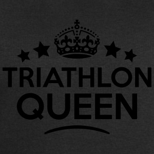 triathlon queen keep calm style WOMENS T-SHIRT - Men's Sweatshirt by Stanley & Stella