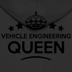 vehicle engineering queen keep calm styl WOMENS T- - Men's Premium Hooded Jacket
