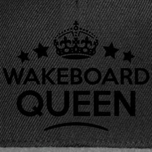 wakeboard queen keep calm style WOMENS T-SHIRT - Snapback Cap