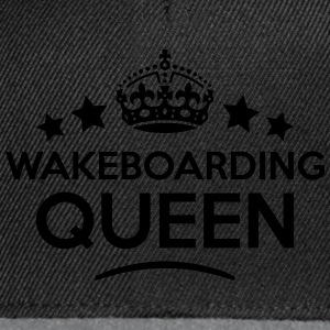 wakeboarding queen keep calm style WOMENS T-SHIRT - Snapback Cap