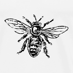 Bee Honeybee Bags & Backpacks - Men's Premium T-Shirt