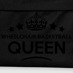 wheelchair basketball queen keep calm st WOMENS T- - Kids' Backpack