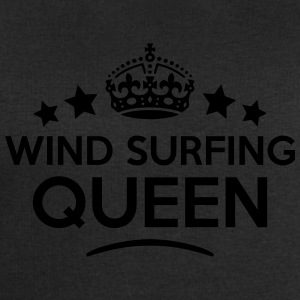 wind surfing queen keep calm style WOMENS T-SHIRT - Men's Sweatshirt by Stanley & Stella